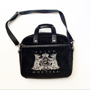 Juicy Couture | Velvet Bling Crossbody Laptop Bag